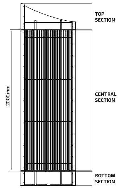 Cover Column - Technical Drawing
