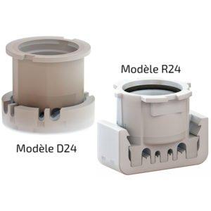 Douille D24 + R24