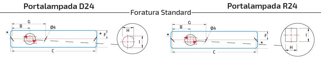 Fun-Module L322 - L472 - Foratura Standard