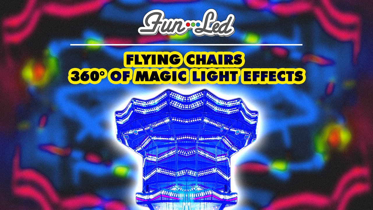 Flying Chairs: 360° of Magic Light Effects