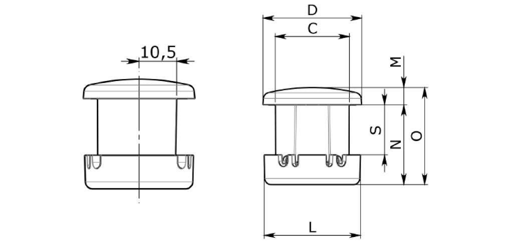 Fun-Spot 30 mm Direct Wire - Ampoule Complète